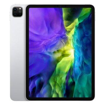 """Таблет Apple iPad Pro (2nd Generation)(MXE52HC/A)(сребрист), 11"""" (27.94 cm) Liquid Retina дисплей, осемядрен Apple A12Z Bionic, 6GB RAM, 256GB Flash памет, 12.0 + 10.0 MPix & 7.0 MPix камера, iPad OS, 473g image"""