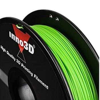 Консуматив за 3D принтер Inno3D, ABS Green, 1.75mm, зелен, 500g, пакет от 5 броя image