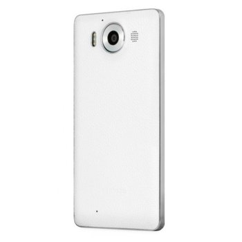 MS LUMIA 950 BACK COVER WH/SVR product