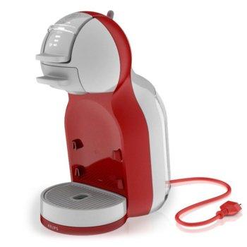 Ръчна еспресо машина Krups Nescafe Dolce Gusto MINI ME, 1500 W, 15 bar, червена image