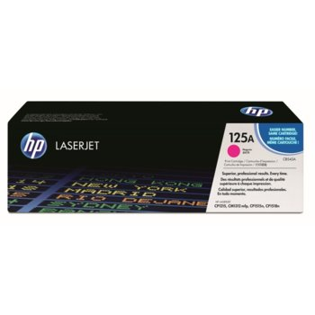 КАСЕТА ЗА HP COLOR LASER JET CP1215/1515N - Magenta - P№ CB543A - заб.: 1400k image