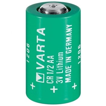 Акумулаторна батерия, литиева, Varta CR1/2AA, 1/2AA, 3V, 1000 mAh, 1бр. image