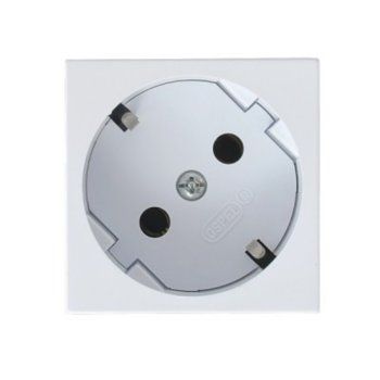 Контакт бял шуко, Ospel, GK-1S/46 product