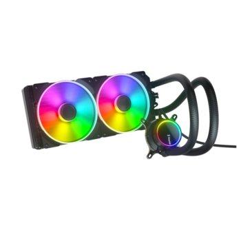 Водно oхлаждане за процесор Fractal Design Celsius+ S28 Prisma, съвместимост със сокети Intel LGA1200/1150/1151/155/1156/1366/2011/2011-3/2066 & AMD AM2/AM2+/AM3/AM3+/AM4/FM1/FM2/FM2+/TR4 image