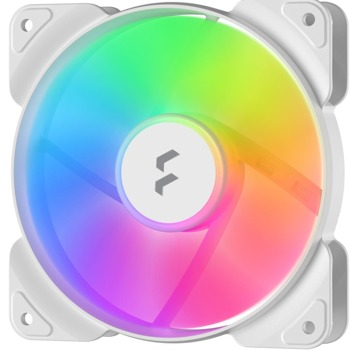 Вентилатор 120mm, Fractal Design Aspect RGB White (FD-F-AS1-1208), 3-pin, 1200 rpm image