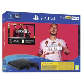 Sony PS4 Slim 500GB + FIFA 20 product