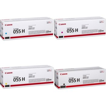 Тонер касета за Canon LBP66x series, MF74x series, Black, - CRG-055H BK - Canon - Заб.: 5900 k image