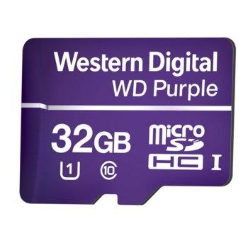 МicroSD Card 32GB WD Purple Class 10 product