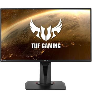 "Монитор Asus TUF Gaming VG259Q, 24.5"" (62.23cm) IPS панел, 144 Hz, 1ms, 100000000:1, 400 cd/m2, DisplayPort, HDMI, AUX image"