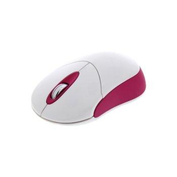 Мишка TnB Candy, 1000 dpi, безжична, USB, розова image
