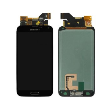 Дисплей за Samsung Galaxy S5, LCD with touch, черен image