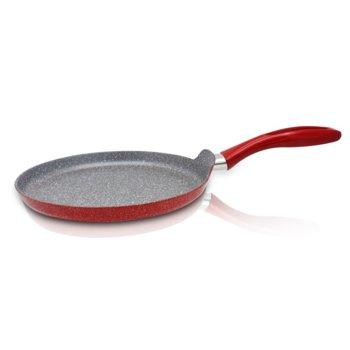 Тиган за палачинки ZEPHYR Red Passion ZP 4422 E26, 26 см, Мраморно покритие, Червен image