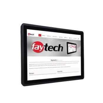 "Индустриален компютър Faytech FT17N4200CAPOB, четириядрен Apollo Lake Intel Pentium N4200 1.1/2.5 GHz, 17"" (43.18 cm) SXGA Anti-Glare Touchscreen Display, 4GB, 128GB SSD Industrial Grade, 2x USB 3.0, Linux image"