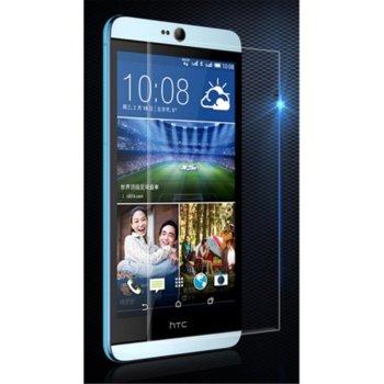 Протектор от закалено стъкло /Tempered Glass/ за HTC Desire 826, прозрачно image