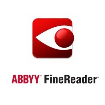 Софтуер ABBYY FineReader 15 Standard, Single User License (ESD), Perpetual, за 1 потребителя image