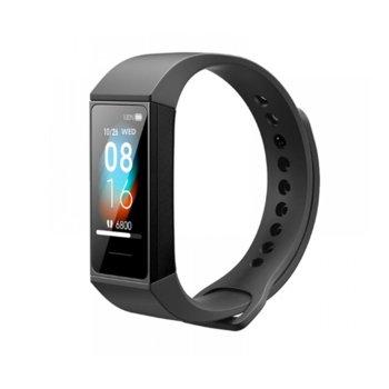"""Смарт гривна Xiaomi Mi Smart Band 4C, 1.08"""" (2.74 cm) TFT + TP дисплей, Bluetooth 5.0, до 14 дни живот на батерията, съвместима с Android и Apple устройства, 5 ATM водоустойчива, черна image"""
