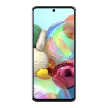 """Смартфон Samsung Galaxy A71 (черен), поддържа 2 sim карти, 6.7"""" (17.01 cm) Full HD+ Super AMOLED Plus, осемядрен Qualcomm SDM730 2.2GHz, 6GB RAM, 128GB Flash памет (+microSD), 64.0 MP + 12.0 + 5.0 + 5.0 MP & 32.0 Mpix, Android, 179g. image"""