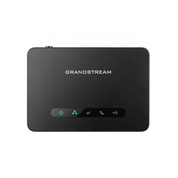Безжична VoIP база Grandstream DP750, до 5 слушалки, до 10 линии, 1x LAN10/100, PoE, черна image