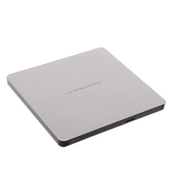 Оптично устройство LG GP60NS60, външно, USB, четене/записване, сребристо image
