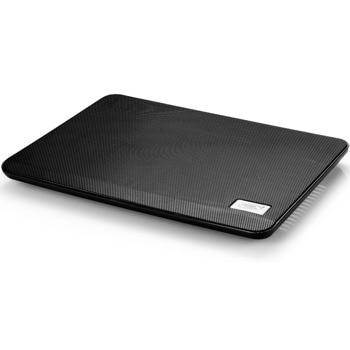 "Охлаждаща поставка за лаптоп DeepCool N17, за лаптопи до 14"" (35.56 cm), 1xUSB, черна image"