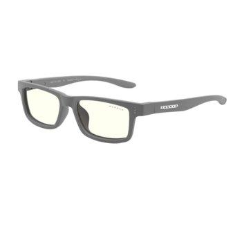 Детски компютърни очила Gunnar Cruz Kids Small, Clear Natural, за деца от 4 до 8 години, 35% филтър на синя светлина, сиви image