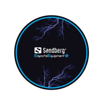 Подложка за под Sandberg Gaming Chair Floor Mat SNB-640-84, черна image