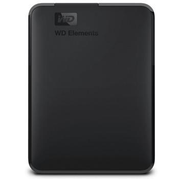 """Твърд диск 4TB Western Digital Elements Portable (черен), външен, 2.5"""" (6.35 см), USB 3.0 image"""