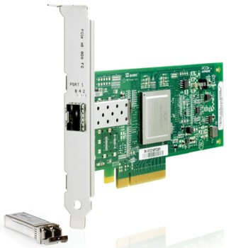 Контролер HP AK344A, StorageWorks, 8 Gb, PCIe to Fibre Channel image