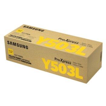 Касета за Samsung CLT-Y503L - SU491A - Yellow - заб.: 5 000k image