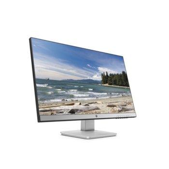 """Монитор HP 27q (3FV90AA), 27"""" (68.58 cm) TN панел, QHD, 2 ms, 10 000 000:1, 350 cd/m2, DisplayPort, HDMI image"""