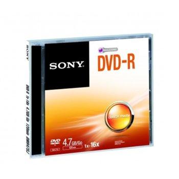 Sony DVD-R jewel case 16x product