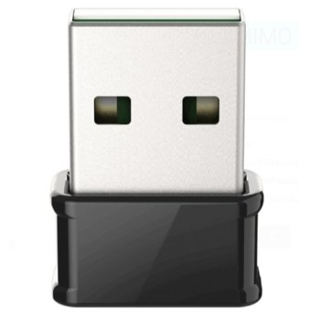 Мрежови адаптер D-Link DWA-181 AC1300 MU-MIMO, 400 Mbps(2.4GHz)/867Mbps (5GHz), Wireless-AC, USB 2.0 image