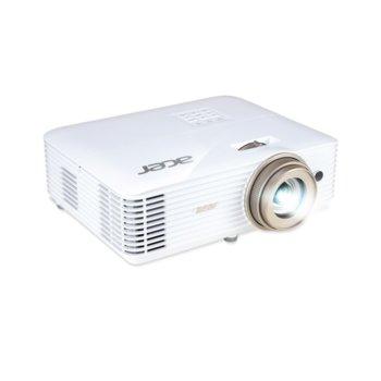 Проектор Acer V6520, DLP, 3D, Full HD (1920 x 1080) 120Hz, 10 000:1, 2200 lm, HDMI, VGA, USB, image