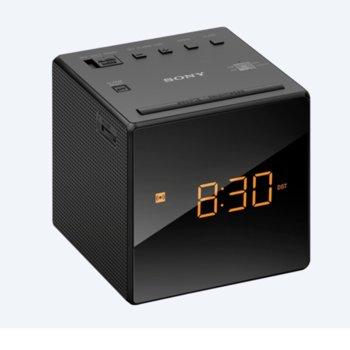 Радио портативно Sony ICF-C1, FM/AM, черен image
