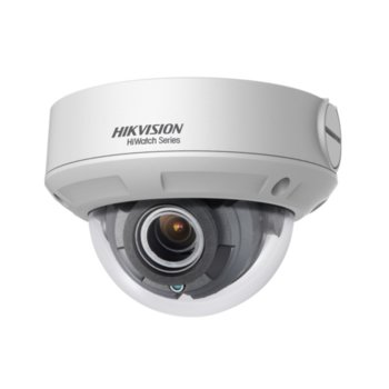 Камера HikVision HWI-D640H-Z, куполна камера, 4MP (2560x1440@20fps), 2.8/12 mm обектив, H.265+, H.265, H.264+, H.264, IR осветление (до 30m), външна, IP67, IK10, PoE, RJ-45 image