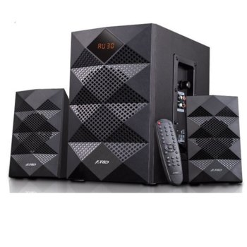 Тонколони Fenda F&D A180X, 2.1, RMS 42W (2x14W + 14W), Bluetooth/USB, черни image