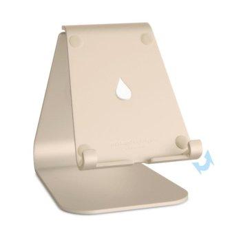 Стойка за таблет Rain Design mStand tablet plus, 116 х 146 х 185мм, регулируема, златиста image
