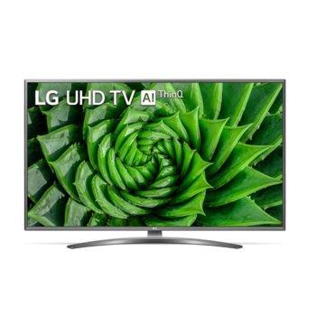 "Телевизор LG 55UN81003LB, 55"" (139.70 cm) 4K/UHD Smart TV, 100Hz, DVB-T2/C/S2, Wi-Fi, LAN, Bluetooth, 4x HDMI, 4x USB, енергиен клас G image"