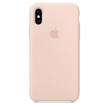 Apple iPhone XS Silicone Case - Pink Sand product