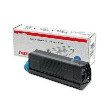 КАСЕТА ЗА OKI C 3100 - Cyan - P№ 42804515 product