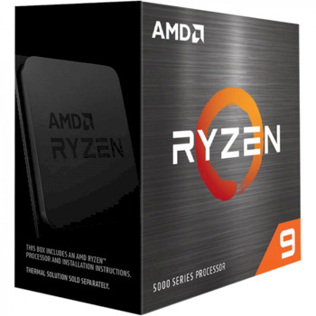 Процесор AMD Ryzen 9 5900X, дванадесетядрен (3.7/4.8GHz, 64MB Cache, AM4) BOX, без охлаждане image