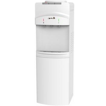 Диспенсър за вода Arielli AWD-1129B, бутон за топла вода, хладка вода, студена вода, 620W нагревател, бял image