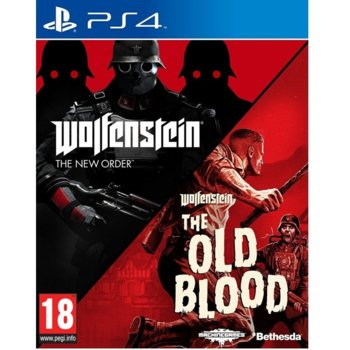 Wolfenstein: The New Order + The Old Blood (PS4) product