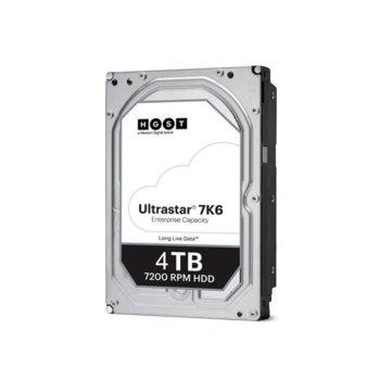 Твърд диск 4TB Western Digital HGST Ultrastar DC HC310 7K6 (512e) TCG, SAS 12Gb/s, 7200rpm, 256MB кеш, 3.5 (8.89cm) image