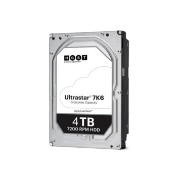Твърд диск 4TB WD Ultrastar DC HC310, SAS 12Gb/s, 7200rpm, 256MB кеш, 3.5 (8.89cm) image