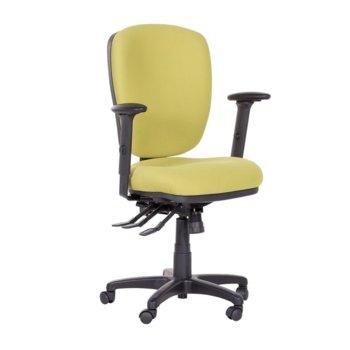 Офис стол Clara, газов амортисьор, коригиране височина, зелен image