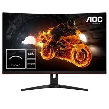 """Монитор AOC CQ32G1, 31.5"""" (80.01 cm) VA панел, 144Hz, Quad HD, 1ms, 80000000:1, 300 cd/m2, DisplayPort, HDMI image"""