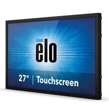 "Монитор Elo E329077 ET2794L-8UWB-0-DT-NPB-G, 27"" (68.58 cm) TN тъч панел, Full HD, 12ms, HDMI, DisplayPort, VGA image"