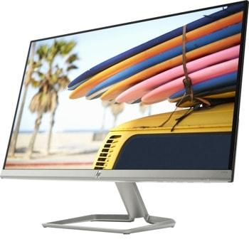 """Монитор HP 24fw, 23.8"""" (60.45 cm) IPS панел, Full HD, 5ms, 10 000 000:1, 300 cd/m2, HDMI, VGA image"""