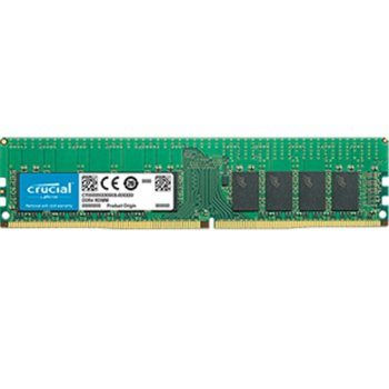 Памет 16GB DDR4 2666MHz, Crucial CT16G4RFD8266, ECC Registered, 1.2V, памет за сървър image
